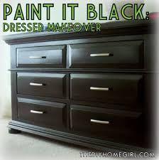 Paint Pine Furniture Black