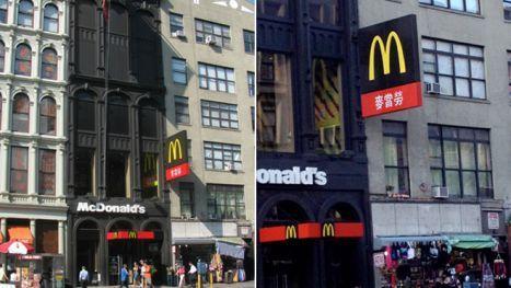 Nyc New York Canal Street Mcdonald S Mcdonald S