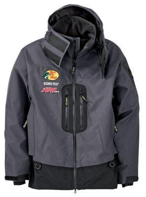 Bass pro shops 100mph gore tex rain parkas for men for Bass fishing rain gear