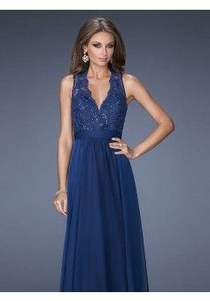 A-line V-neck Sleeveless Chiffon Evening Dresses With Appliques #BK274 - See more at: http://www.beckydress.com/special-occasion-dresses/formal-evening-gowns/sexy-evening-dresses.html?p=3#sthash.okNVs4Qa.dpuf