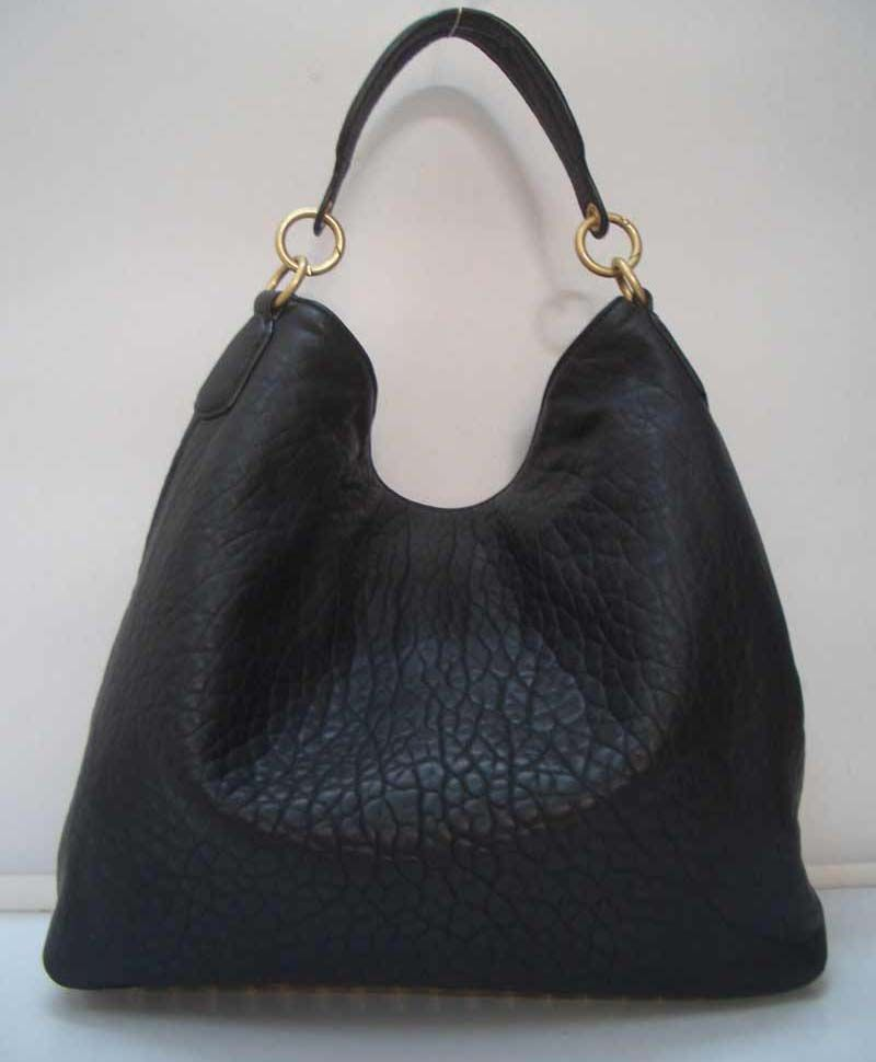 2010 Collection Alexander Wang Darcy Slouchy Hobo Black