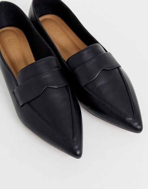 Pointed loafers, Casual shoes women