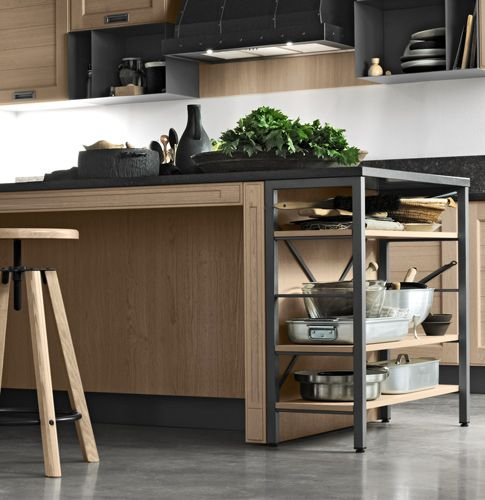 dettaglio cucina moderna contemporanea stosa - modello cucina york ...