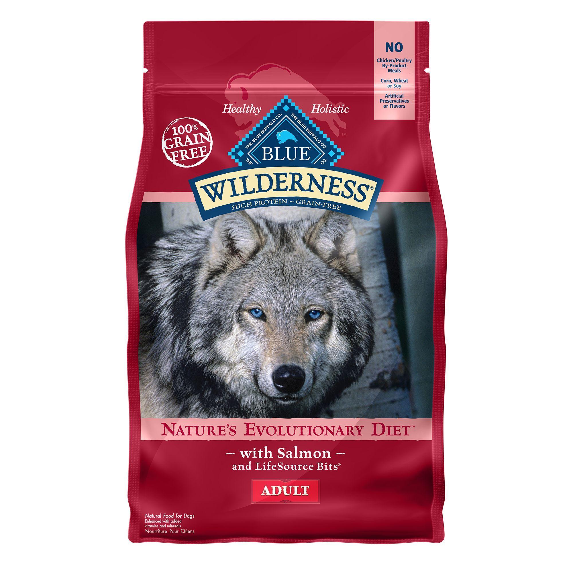 Blue Buffalo Wilderness Adult Dog Food Grain Free Natural
