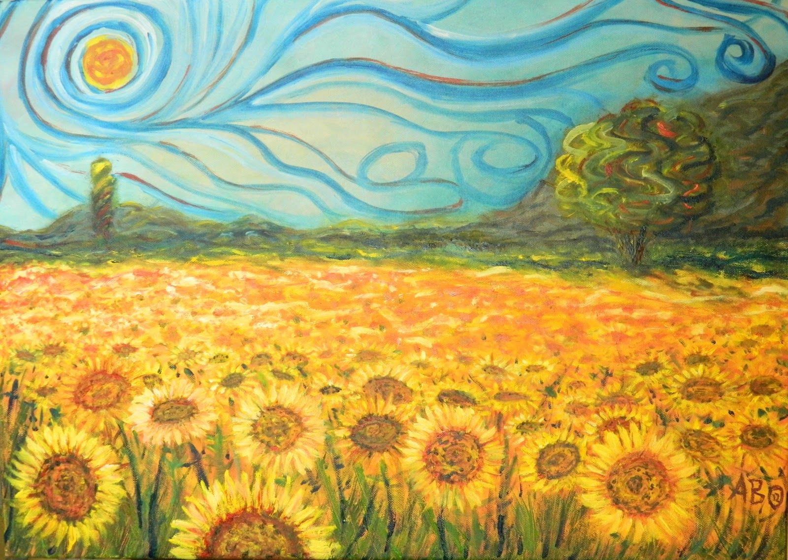 Cuadro De Los Girasoles Van Gogh Obras Buscar Con Google Paintings I Love