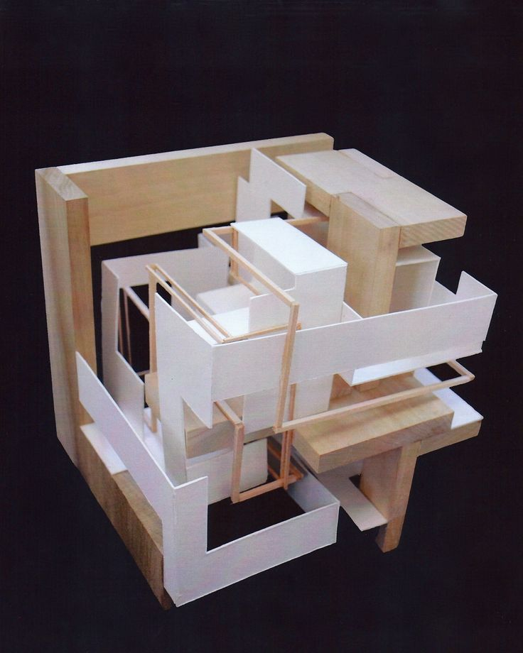 Bildergebnis f r cube architecture model architectur models pinterest rem koolhaas - Small spaces architecture model ...