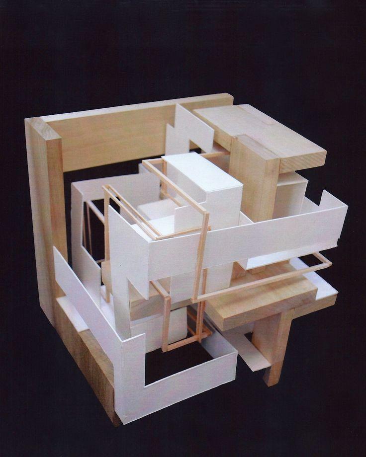 bildergebnis für cube architecture model макеты pinterest