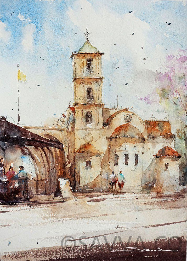 Cyprus Watercolour Archives Savva Watercolour Artist