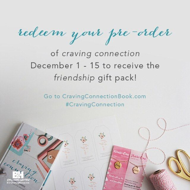 Did you SEE the beautiful gifts that come along with each pre-order of the new (and first) @incourage book Craving Connection?? Buy one book and you'll receive another copy of the book a necklace set a set of gift tags AND downloadable coloring sheets! Get all the details and place your order at the link in our profile! #cravingconnection {so sorry but the preorder gifts are only available to US residents}