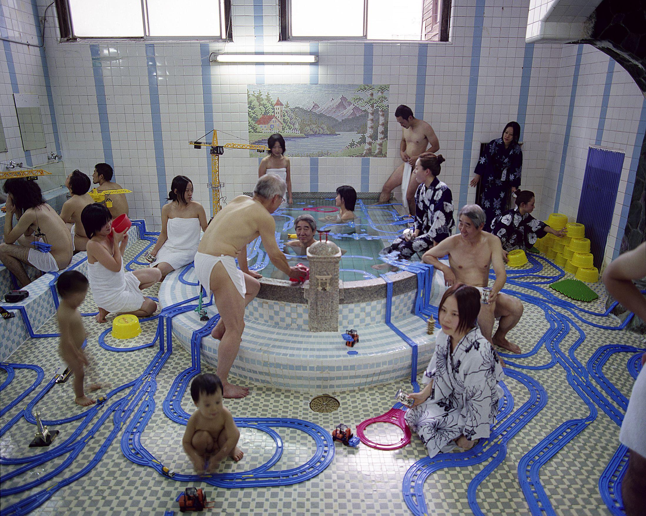 Unisex public bath house japan, best ass in women s porn
