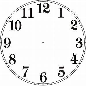 No Hands Clock Clip Art Yahoo Image Search Results In 2020 Clock Face Printable Clock Face Clock Template