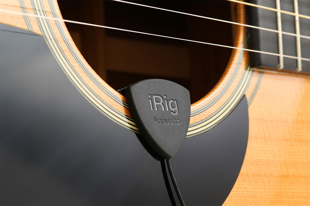 Playing Acoustic Guitar Is Awesome And With Ik Multimedia S Newest Invention Best Acoustic Guitar Acoustic Guitar Guitar Player Gifts