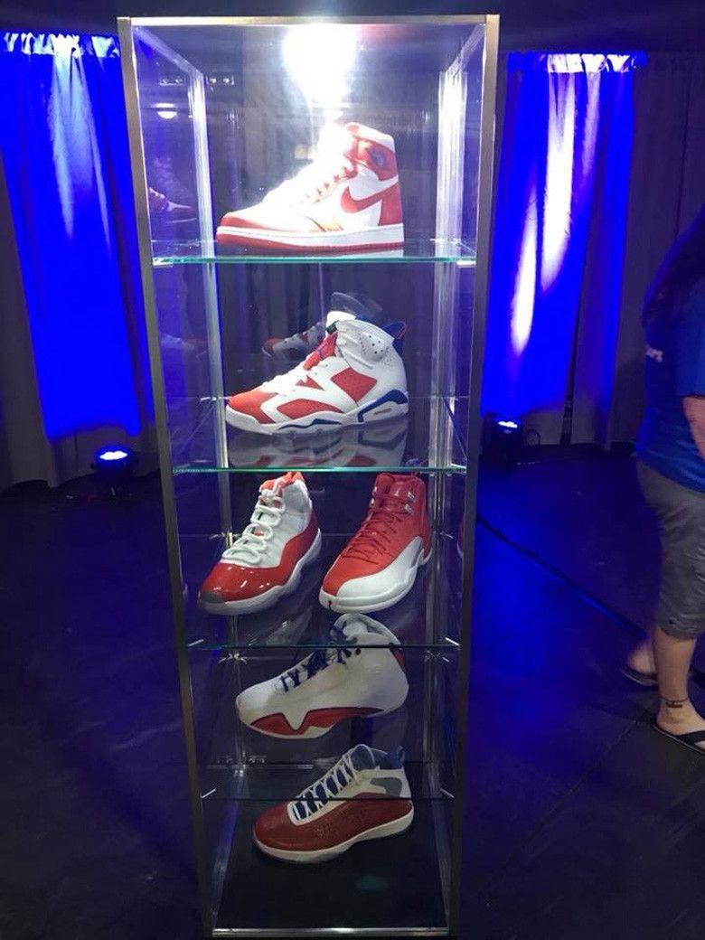 Air Jordan PE Collection In Orange And