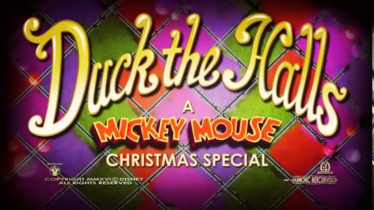 Donald duck wants to experience Christmas for the first time but ...