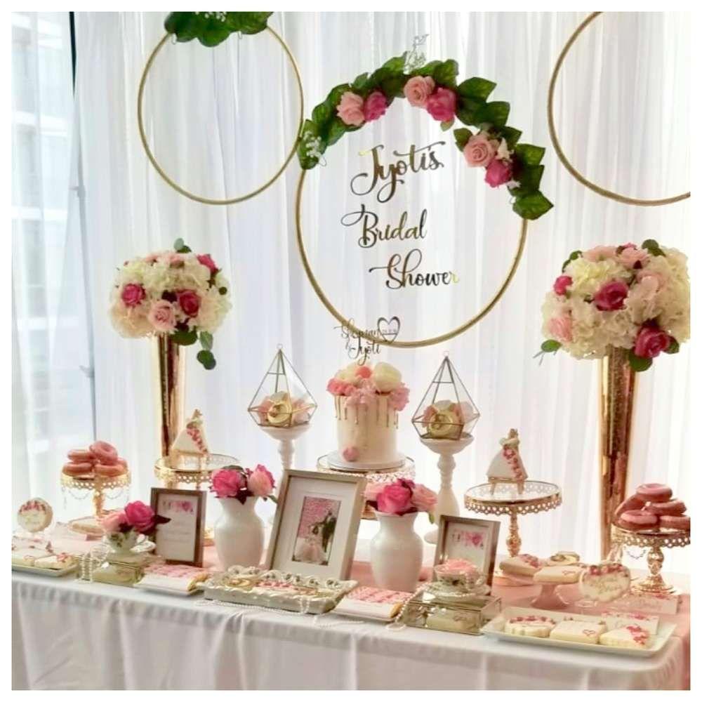 Flowers Bridal Wedding Shower Party Ideas Photo 1 Of 13 Bridal