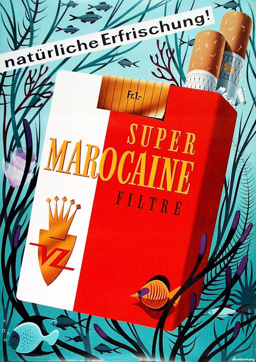 Zigarren Blechschild Küchen Rauchen