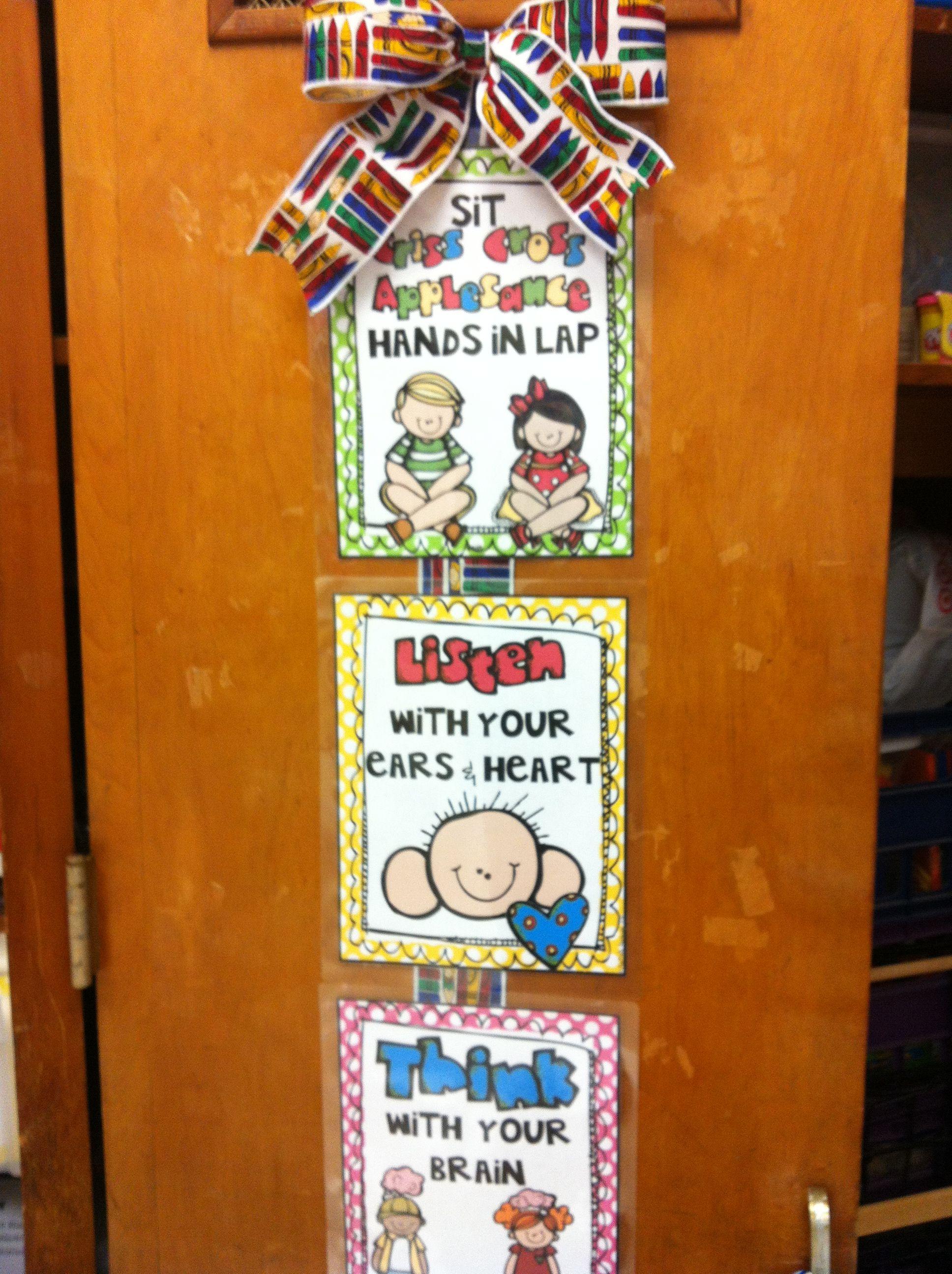 Prek Classroom Classroom Rules