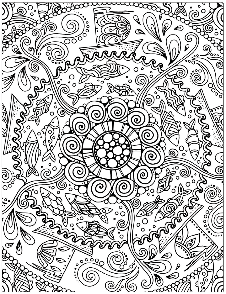 Sales Page Coloring Book Cafe Coloring Canvas Mandala Coloring Books Coloring Books