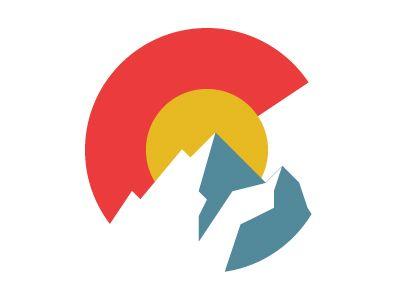 Colorado With Images Graphic Design Logo Graphic Design Inspiration Flag Design