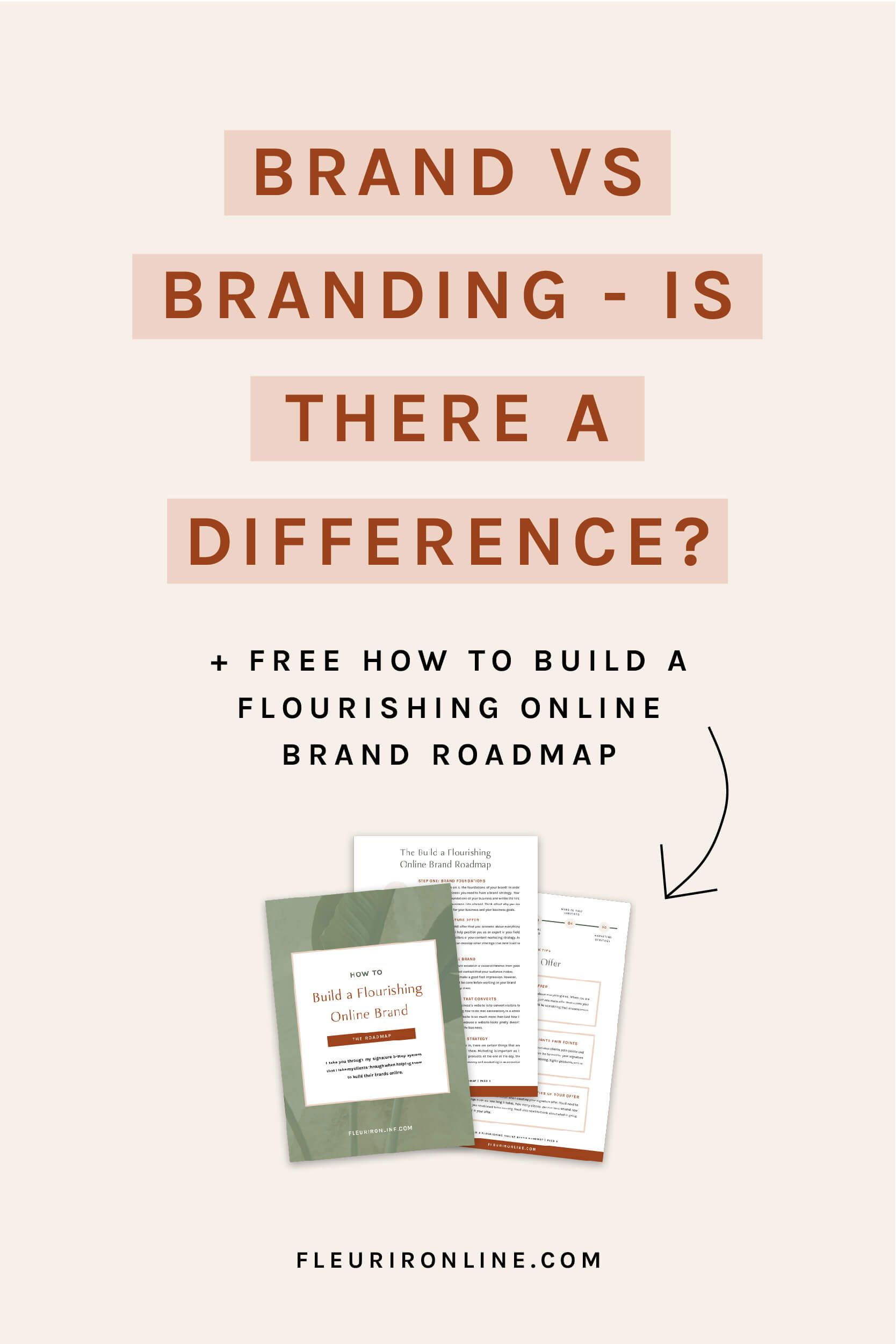 Brand Vs Branding Is There A Difference Branding Business Branding