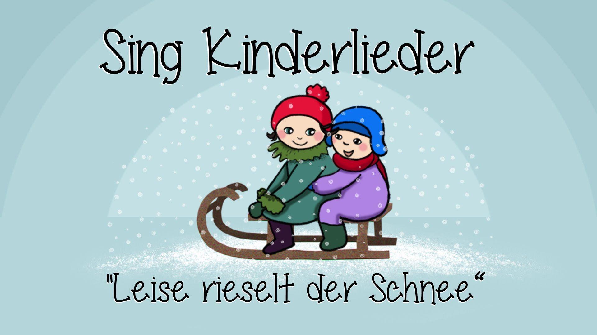 Leise rieselt der Schnee - Weihnachtslieder zum Mitsingen | Sing ...