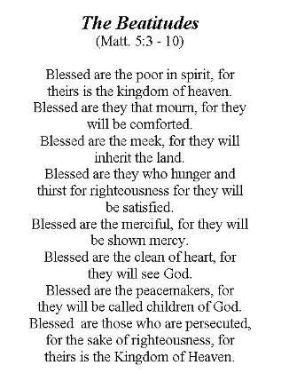 9 beatitudes