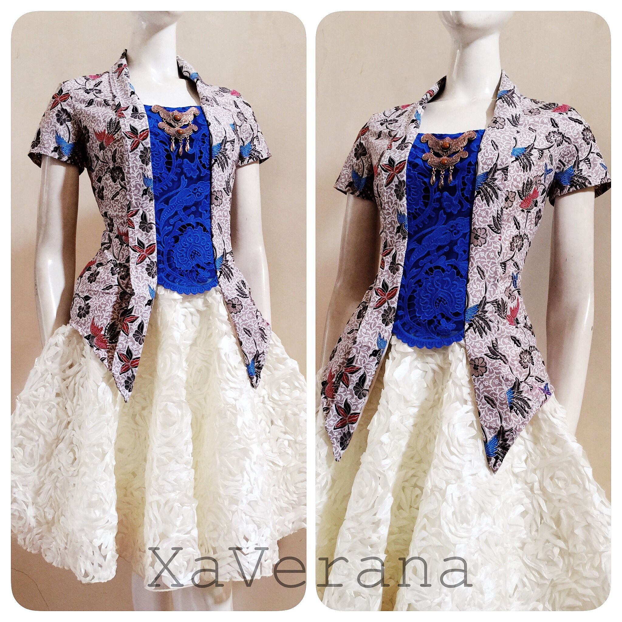 Kebaya Kutubaru See Our Collection At Instagram Xaverana Batik