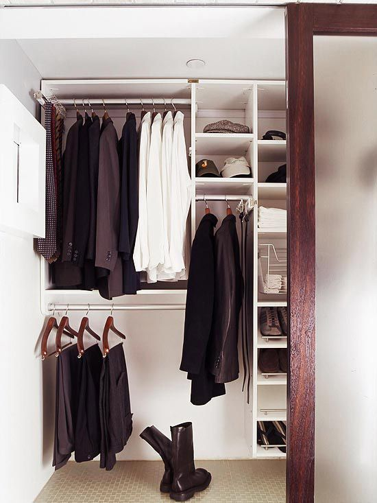 Bedroom Decorating Ideas Organizing, Front closet and Small doors