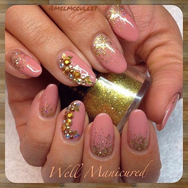 So pretty! This is one of fave creamy soft gel colors by #LeChat in #TanRose. #wellmanicured #nails #manicure #gel #manhattanbeach #gold #goldglitter #glitterfade #gelpolish #naturalnails #southbay #intheheartofthesouthbay #nailart #naildesigns #la #customnailart #nails2inspire #nailpro #nailsmagazine #nailpromagazine #nailedit #Padgram