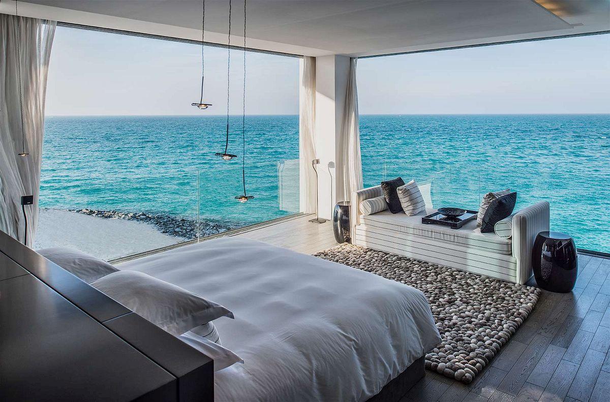Zaya Nurai Island A Striking Private Island Resort Bedroom Views Luxury Homes Luxurious Bedrooms