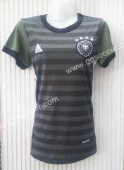 2016 European Cup Germany Away Gray Thailand Female Soccer