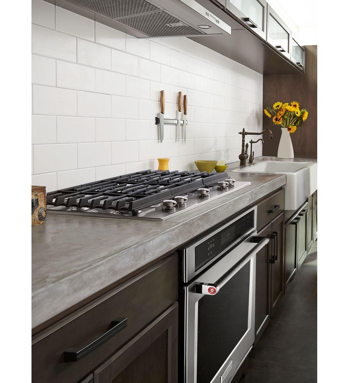 Gentil KitchenAid® 30u0027u0027 5 Burner Gas Cooktop With Griddle
