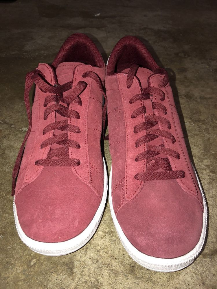 0847aa18dbdf Nike Tennis Classic CS Suede Team Red Team Red-White 829351-601 Men s SZ 10   fashion  clothing  shoes  accessories  mensshoes  athleticshoes  ad (ebay  link)