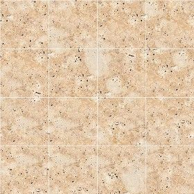 Textures Texture seamless | Roman travertine floor tile texture seamless 14732 | Textures - ARCHITECTURE - TILES INTERIOR - Marble tiles - Travertine | Sketchuptexture