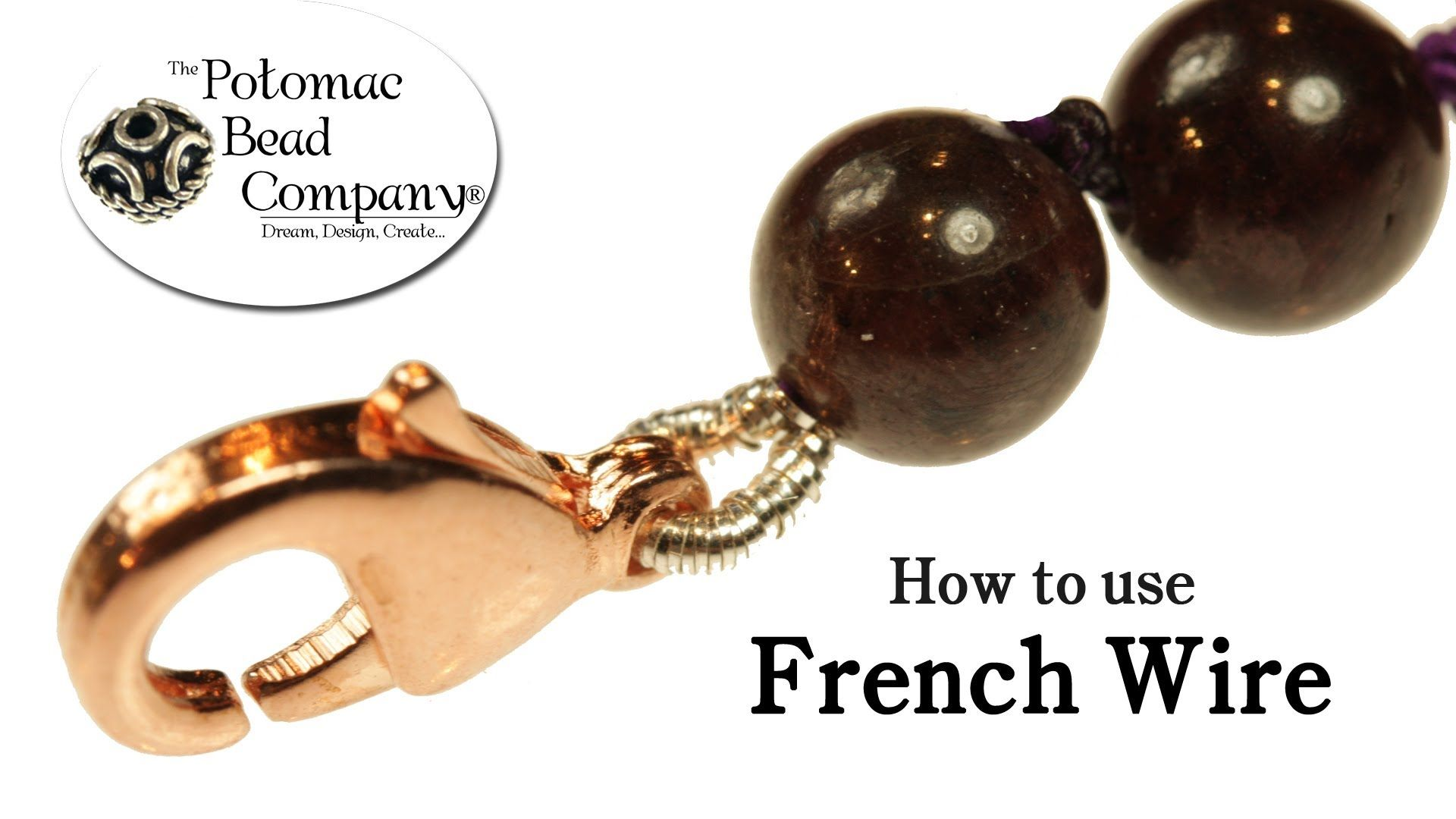 How to Use French Wire (+playlist) | Crafting jewelry | Pinterest ...