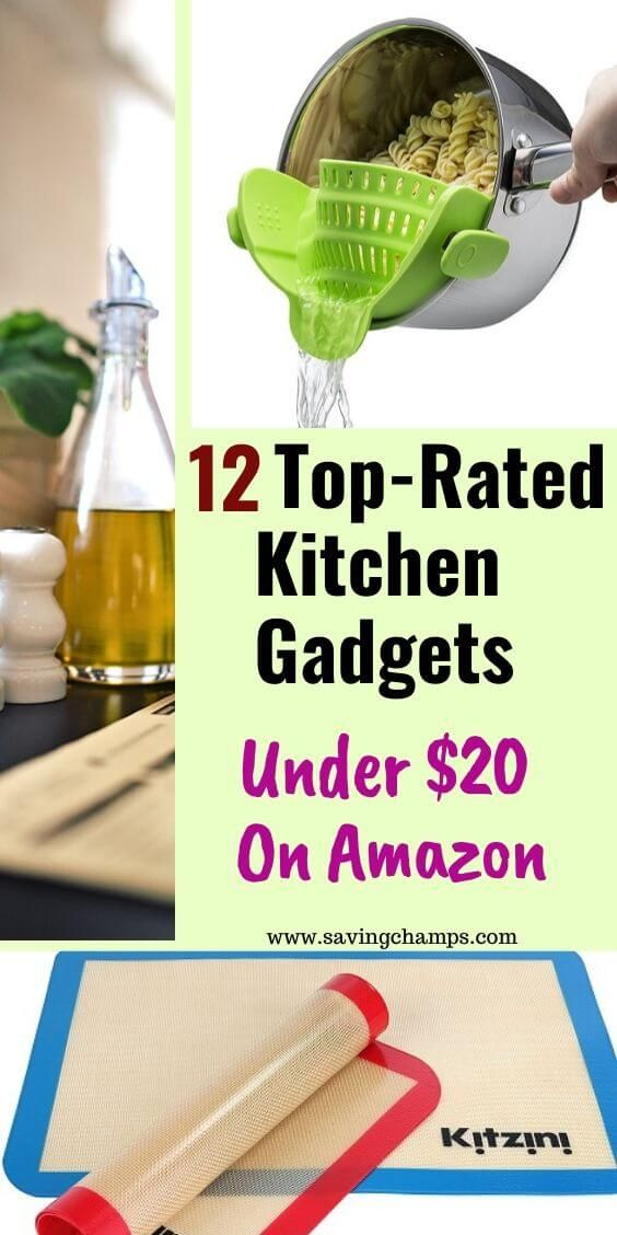 Best Amazon Kitchen Gadgets with Top Ratings under $20