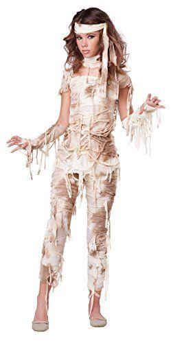 California Costumes Mysterious Mummy Tween Costume, Large Tween - halloween costumes for girls ideas