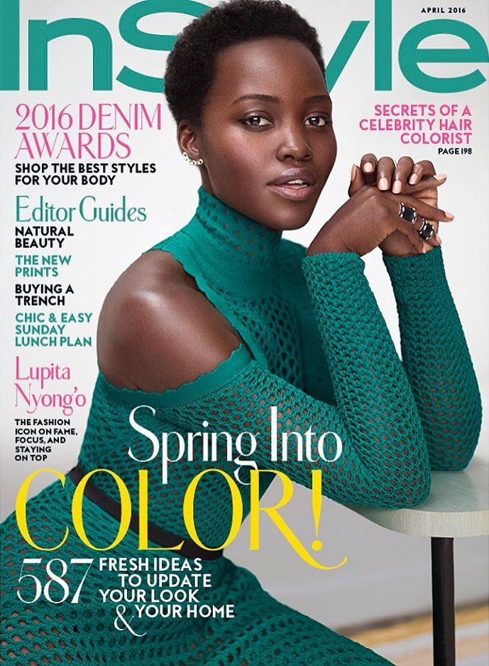 Lupita Nyongu0027o InStyle Magazine April 2016 Photoshoot InStyle - fresh blueprint 2 cover
