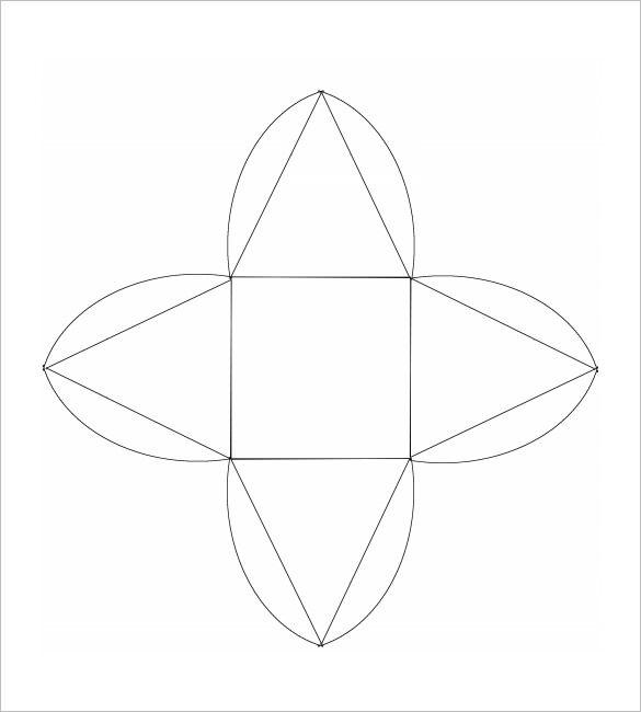pyramid template \u2022 P R I N T A B L E S \u2022 T E M P L A T E S