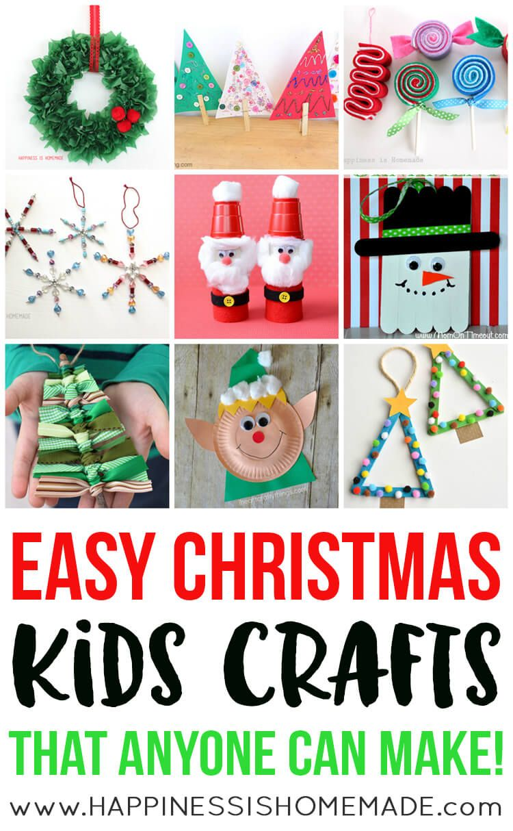 Awesome Quick Easy Christmas Craft Ideas Part - 5: Quick And Easy Christmas Kids Crafts That Can Be Made In Under 30 Minutes!  No Special Tools Or Skills Needed, So ANYONE Can Make These Fun Holiday  Crafts!