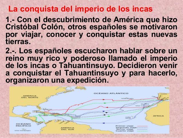 La Conquista Del Tahuantinsuyo 3 638 Jpg 638 479 Social Studies Study Social