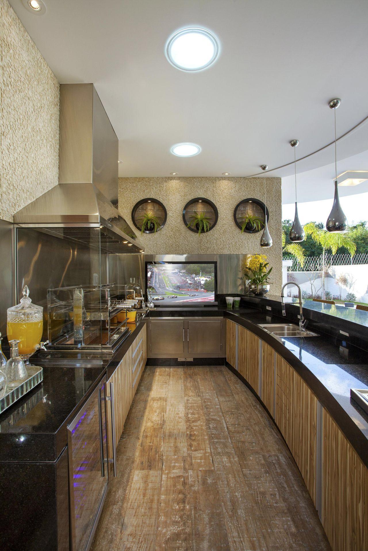 Imagem De Https Fotos Vivadecora Com Br Decoracao Cozinha Gourmet