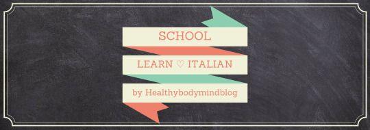 Learn  Italian - SCHOOL