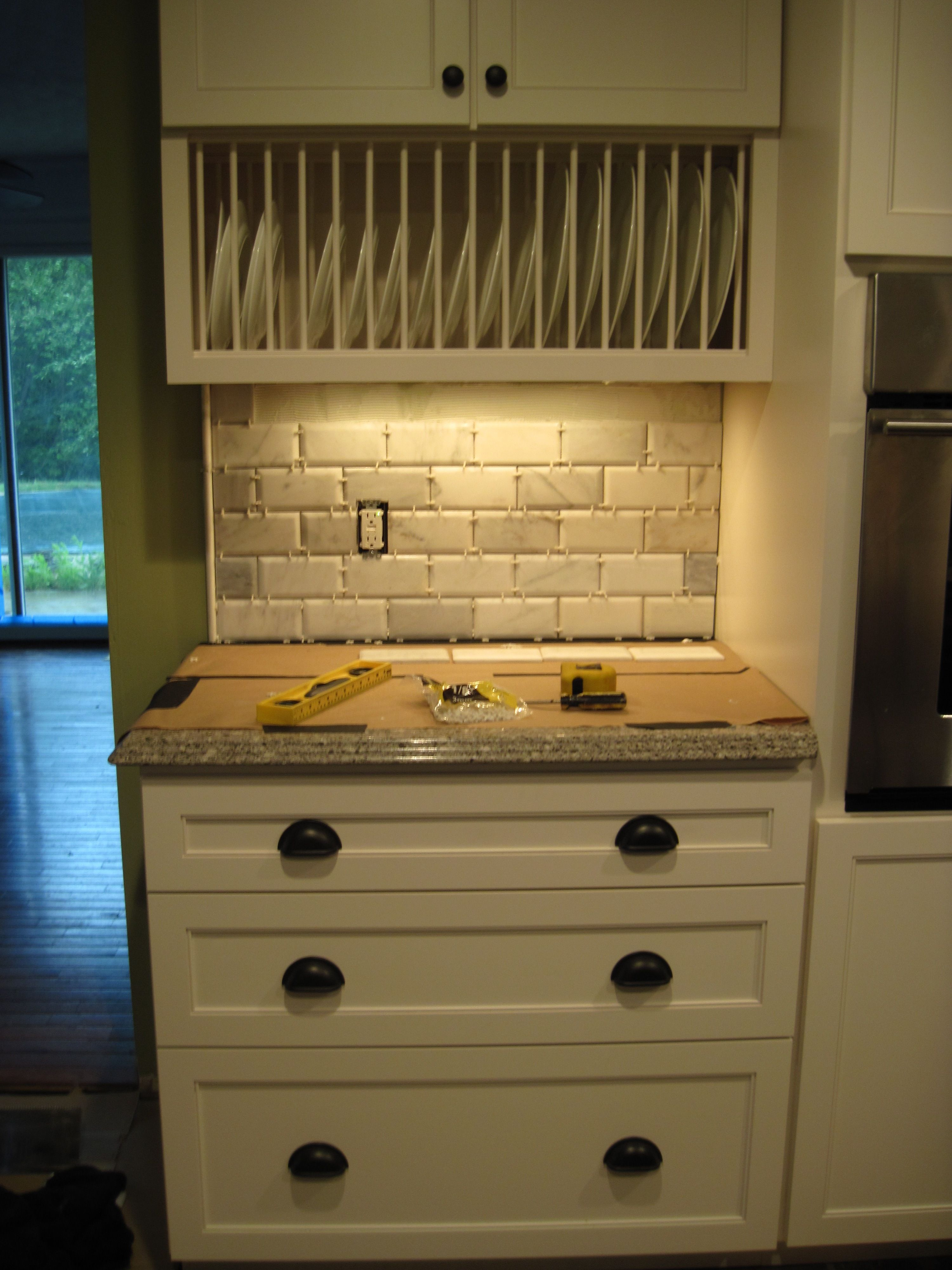 Starting New Stone Backsplash Tile Subway And
