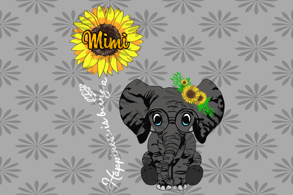 Download Happiness is being a Mimi, mimi svg, gift for mimi SVG ...