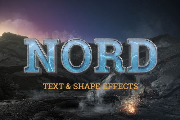Free ... NORD: Cinematic Text & Logo effects by TITO on @creativemarket ... https://crmrkt.com/wXmkj