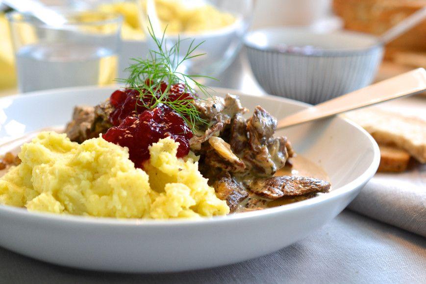 Herr Boines fabelaktige finnebiffgryte er perfekt høstmat!  Oppskrift på myldre.com.  Mr. Boines fantastic recepie for reindeer stew!