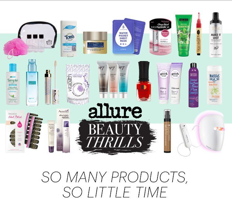 So Many Products So Little Time The Allure Beauty Thrills Box Never Disappoints Allure Beautythrills Bea Allure Beauty The Allure Instagram Posts