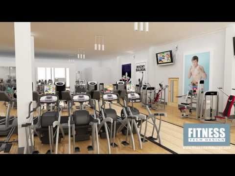 3d Gym Walkthrough Hatton Health And Fitness Fitness Tech Design Fitness Tech Gym Design Tech Design