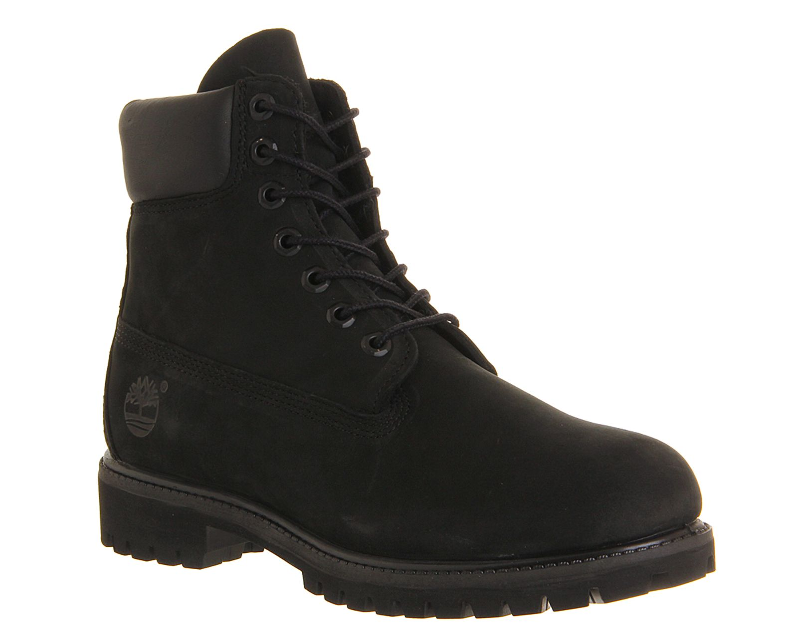 Timberland 6 In Buck boots Black Nubuck Boots | Timberland